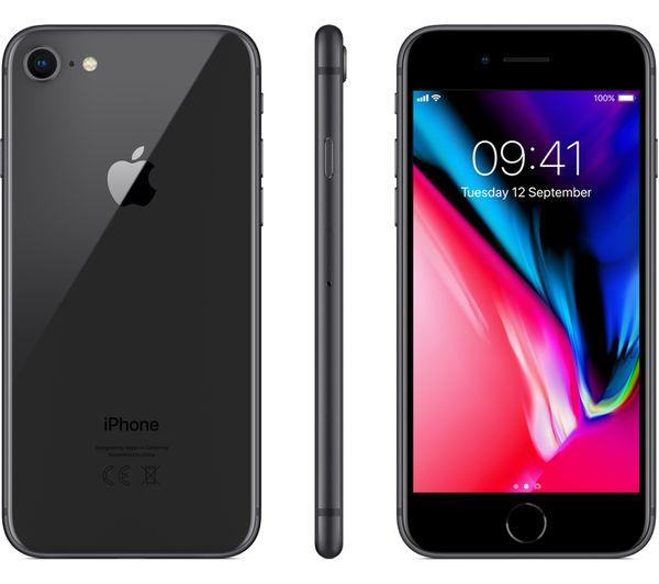 Apple, iPhone, 8, 64Gb, Space, Grey,