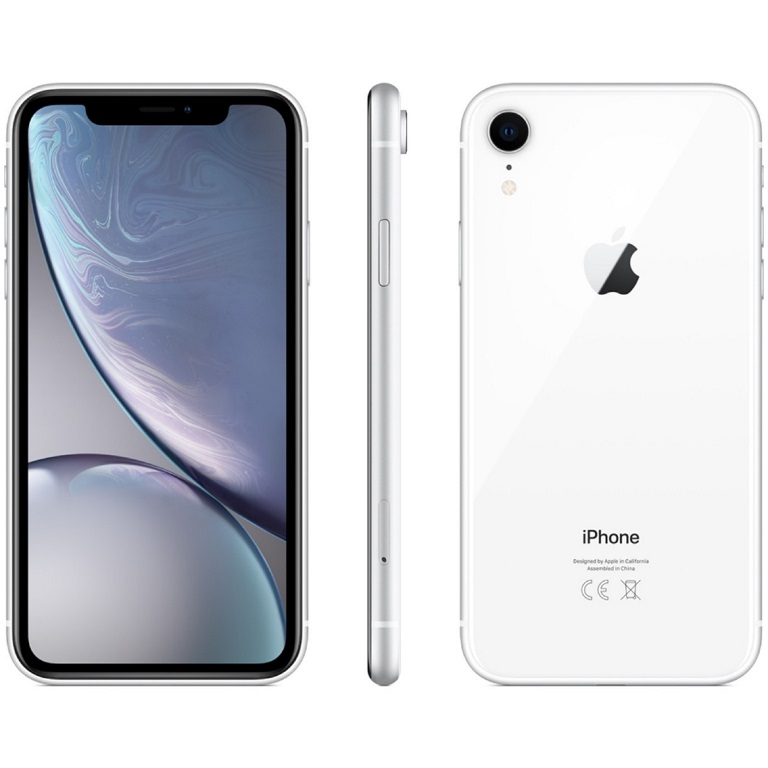 Apple, iPhone, XR, 64GB, White,