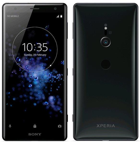 Sony, Xperia, XZ, 2, Black,
