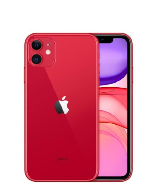 Apple, iPhone, 11, 64GB, Red,