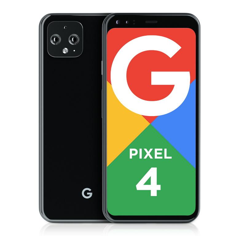 Google, Pixel, 4, 64Gb, 4GX, Black,