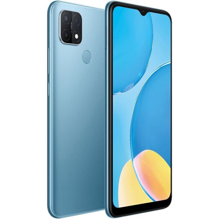 Oppo, A15, 32GB, Mystery, Blue, -, 6.5, HD+, Diagonal, Screen, Media, Tek, Helio, P35, CPU, Dual, Sim, 3GB, RAM, AI, Tri-Camera, 4230m,