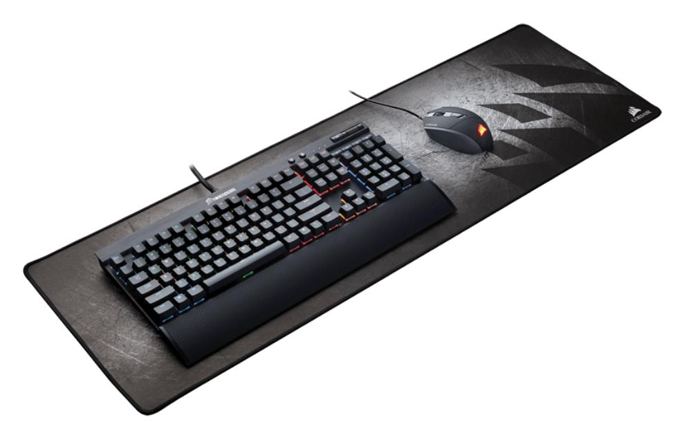 Corsair, MM300, Anti-Fray, Cloth, Gaming, Mouse, Mat, Extended, Edition, 930mm, x, 300mm, x, 3mm,