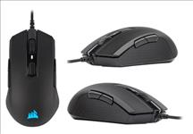 Corsair, M55, RGB, PRO, Ambidextrous, Multi-Grip, Gaming, Black, Mouse, 200-12, 400, DPI, ICUE, Software., 2, Years, Warranty,