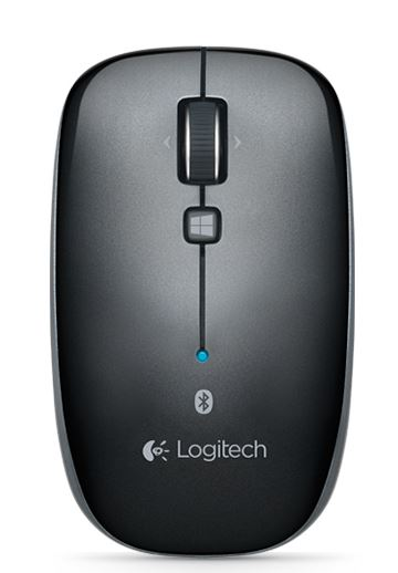Logitech, M557, Bluetooth, Mouse, -, Grey,