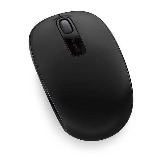 Microsoft, Wireless, Mobile, Mouse, 1850, Coal, Black.,