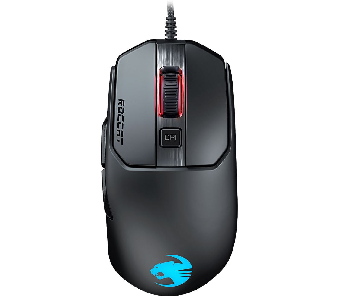 Roccat, KAIN, 120, AIMO, RGBA, High, Performance, Gaming, Mouse, (Black, Version),