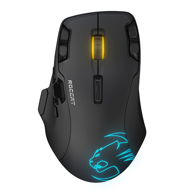 Roccat, LEADR, Wireless, Multi-Button, RGB, Gaming, Mouse,