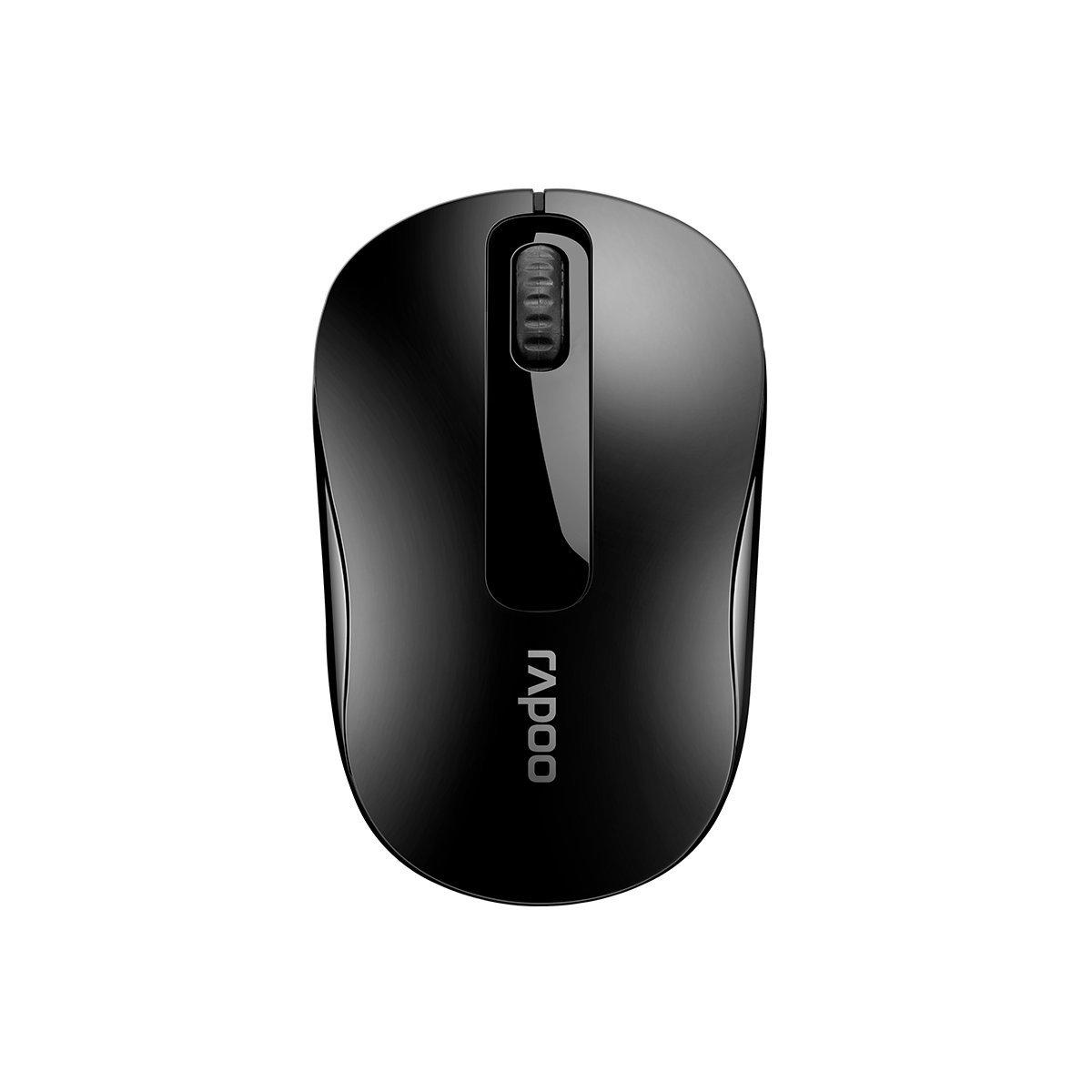 RAPOO, M10, PLUS, 2.4GHz, Wireless, Optical, Mouse, Black, -, 1000dpi, 3Keys,