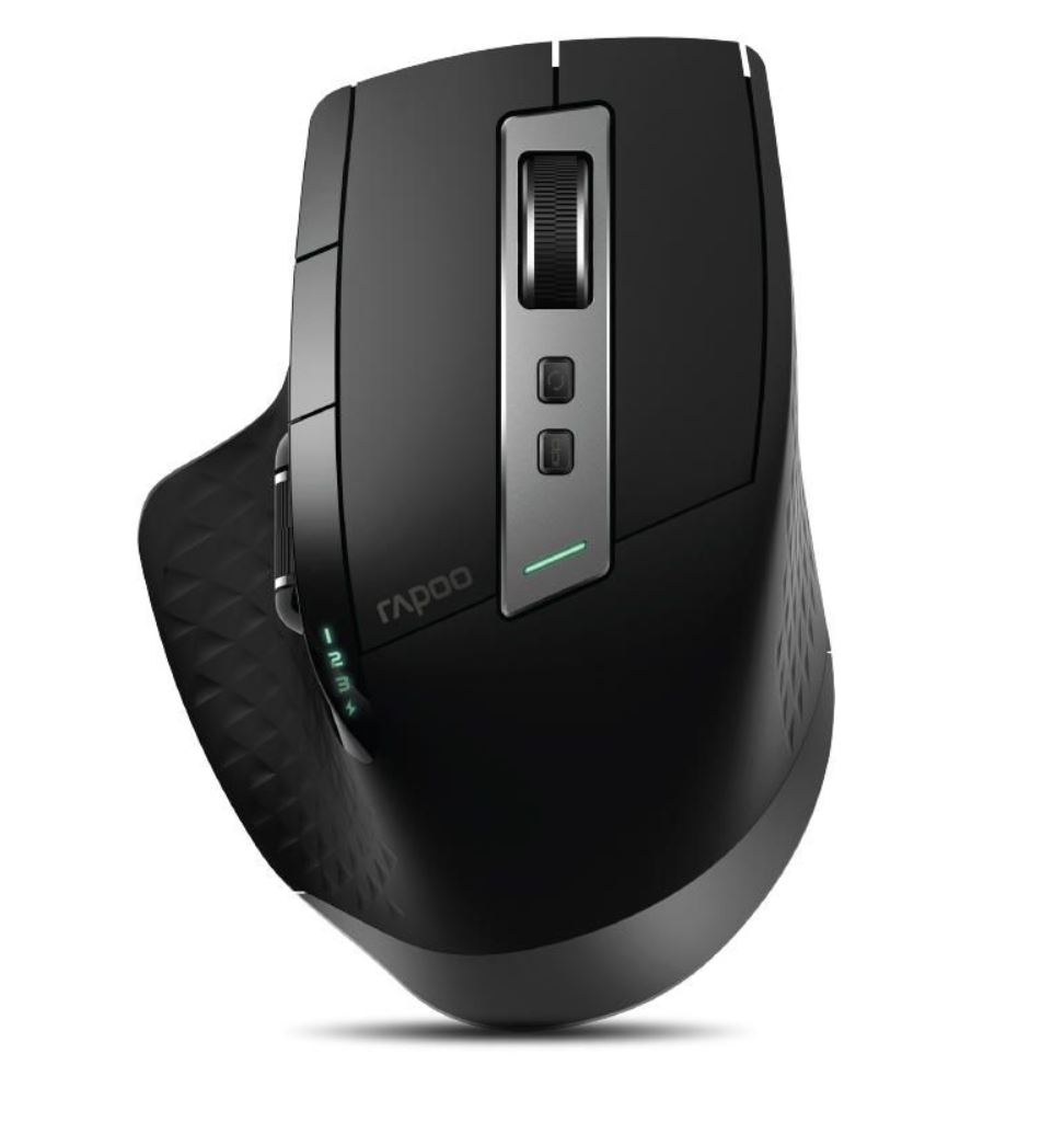 RAPOO, MT750S, Multi-Mode, Bluetooth, &, 2.4G, Wireless, Mouse, -, Upto, DPI, 3200, Rechargeable, Battery,