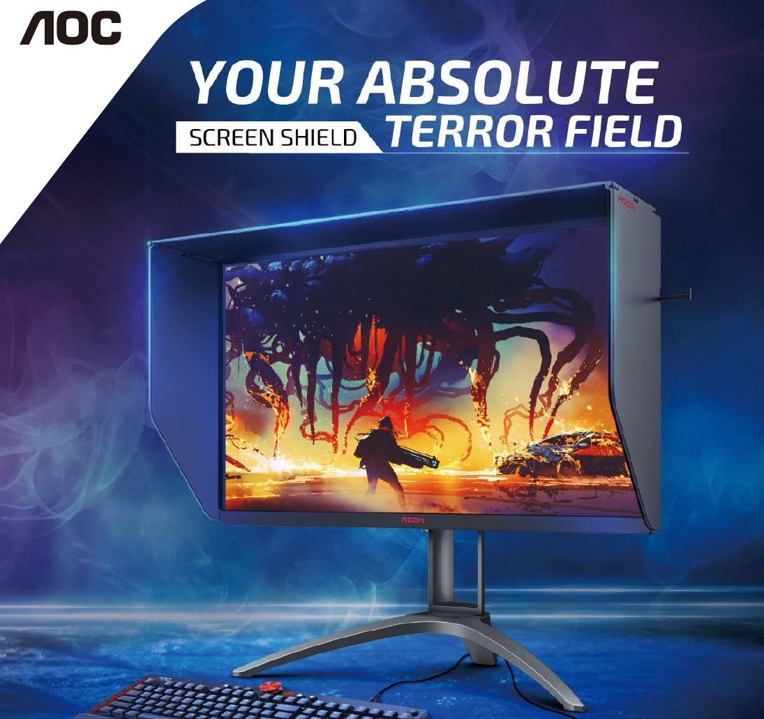 Aoc, AG273FZE/75, FHD, IPS, 0.5MS, 240HZ, MONITOR,