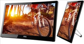 Aoc, 15.6in, E1659FWU, LED, USB, 3.0, PORTABLE,