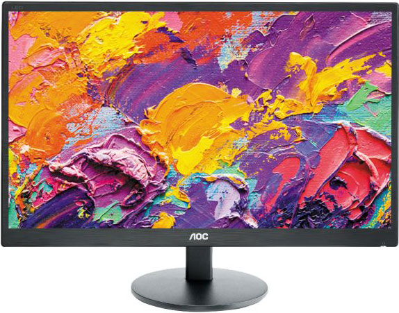 Aoc, 23.6in, E2470SWH, LED, FULL, HD, 1MS, SPK,