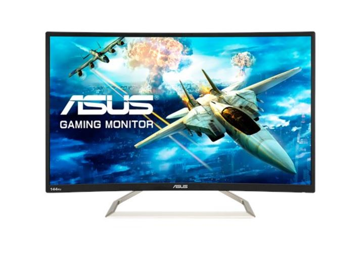 ASUS, VA326H, 31.5, Inch, Full, HD, 144Hz, Curved, LED, Gaming, Monitor,