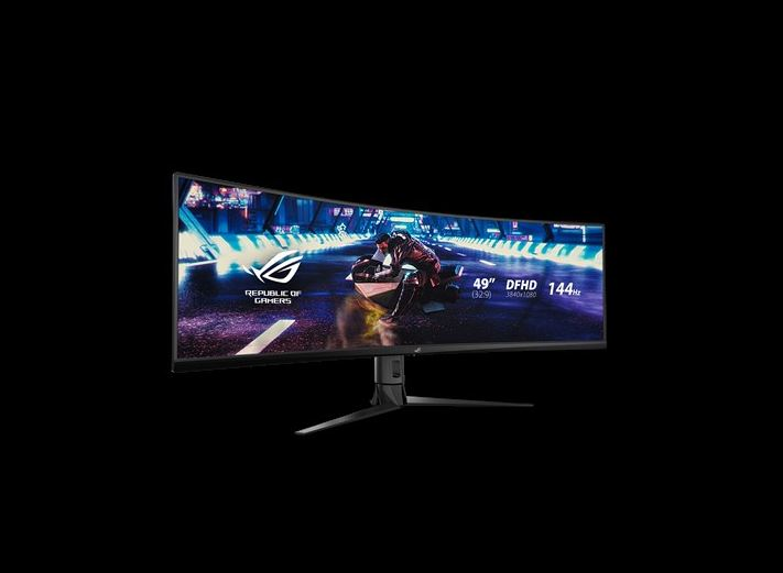 Asus, XG49VQ, 49IN, ULTRAWIDE, VA, CURVED, 4K, 3Y,