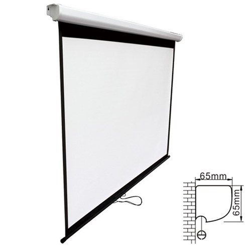 Brateck, Projector, Standard, Auto-lock, Manual, Projection, Screen-108'', (, 2.40X, 1.35M), /(16:9, Ratio),