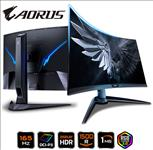 GIGABYTE, AORUS, CV27F, CURVED, GAMING, MONITOR, 27, 165Hz, VA1500R, 1920x1080, HDMI, DP, 3YR,