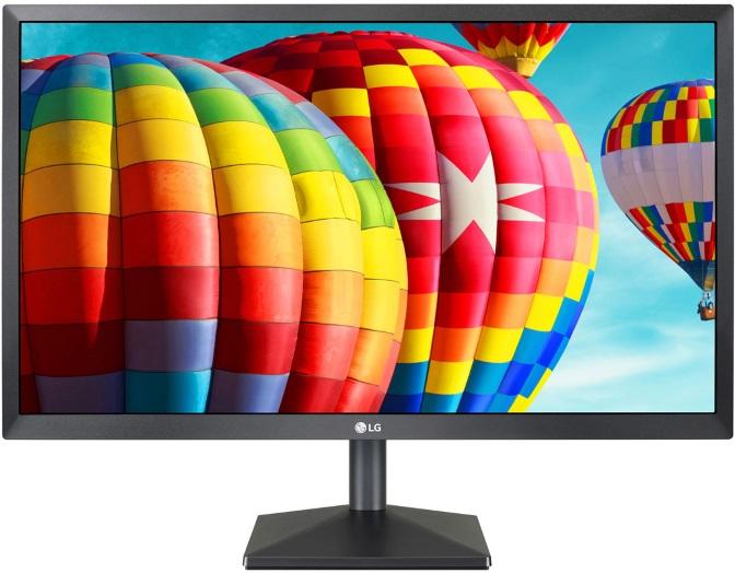LG, 22, IPS, 5ms, 75Hz, Full, HD, FreeSync, Monitor, -, HDMI/VGA, Tilt, VESA75mm, Black, Stabilizer, (LS), MNL-22MK400H-B,