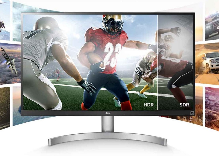 Lg, 27UL600, 27IN, IPS, 4K, HDR400, MONITOR, 3Y,