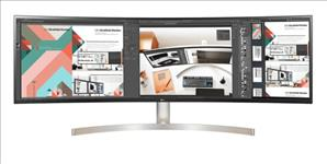 LG, 49, (32:9), CURVE, 5K, DUAL, QHD, LED, 5120x1440, HDMI, USB-C, HDR10, VESA, SPKR, H/ADJ, 3YR,
