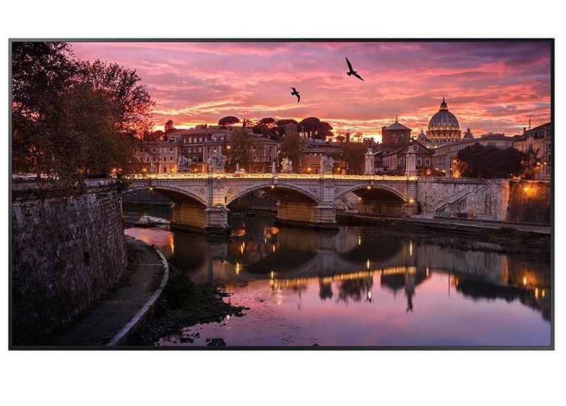 Samsung, QB65R, 65in, UHD, 16/7, Commercial, Display,