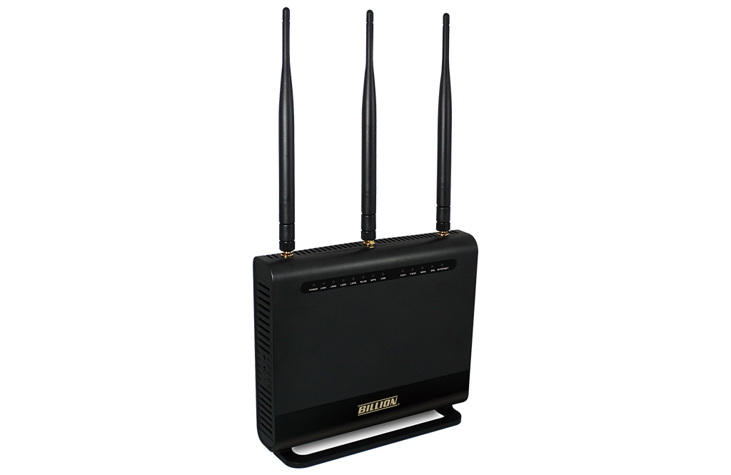 Billion, BIPAC8700AXL, Triple-WAN, Wireless, 1600Mbps, 3G/4G, LTE, and, VDSL2/ADSL2+, Firewall, Router,