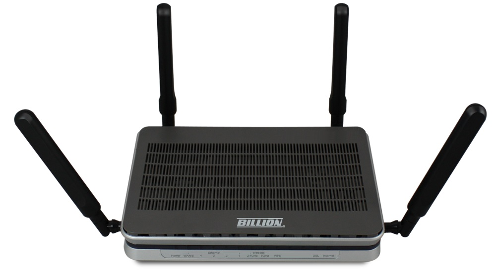 Billion, BIPAC8900AX-2400, AC, 2400Mpbs, 3G/4G, LTE, VDSL2, ADSL2+, VPN, Firewall, Router,