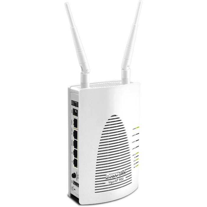 Draytek, VigorAP902, 802.11ac, Concurrent, Dual, Band, Wireless, Access, Point, extender, with, PoE, PD, Port, 2, years, warranty,