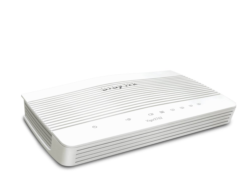Draytek, Vigor2762, VDSL2/ADSL2+, VPN, Firewall, Router, 4xGigabit, LAN, WAN, Port, 2xUSB, for, 3G/4G, 2xSSL, VPN, Tunnels, 2yr, wty~MOD-,