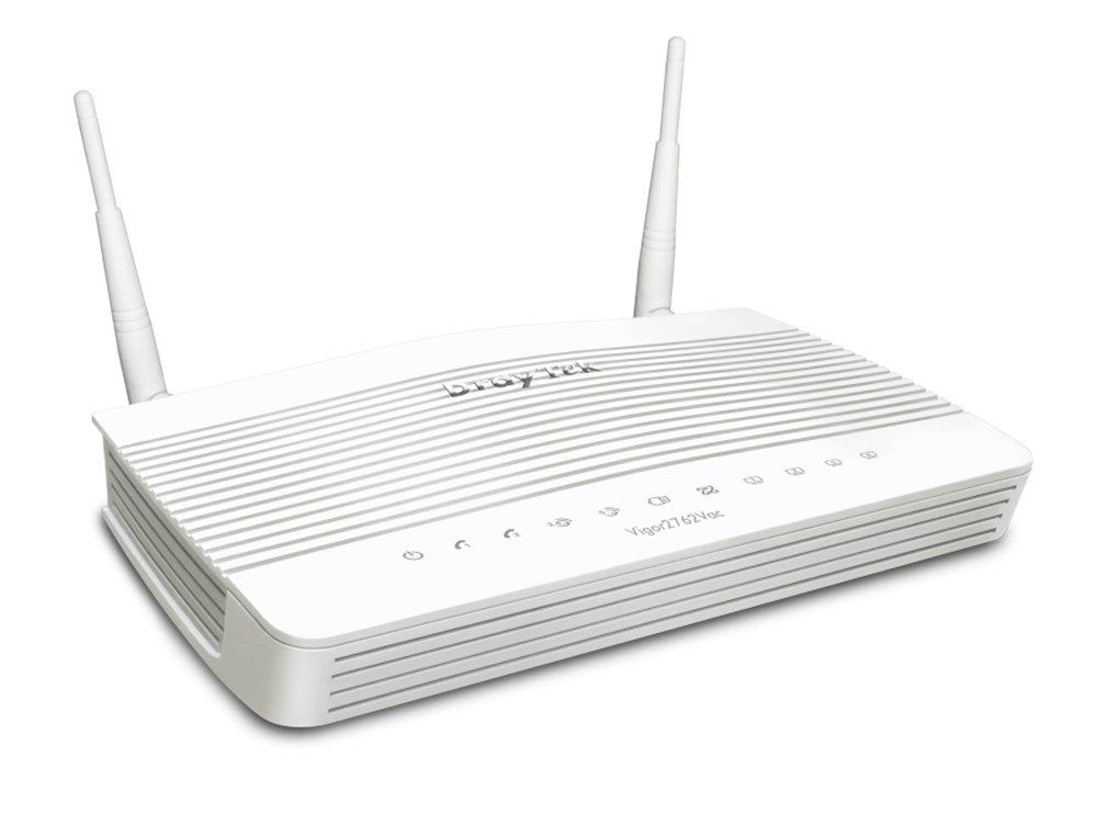 Draytek, Vigor2762N, VDSL2/ADSL2+, VPN, Firewall, Router, 4xGigabit, LAN, WAN, Port, 2xUSB, for, 3G/4G, 2xSSL, VPN, Tunnels, 2.4GHz, WLAN,