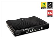 Draytek, Vigor2926, Dual, WAN, Gigabit, Broadband, Router, Firewall, 50xVPNs, 2xGigabit, WAN, 4xGigabit, LAN, 3G/4G, USB, 16xVLAN, IPv6,