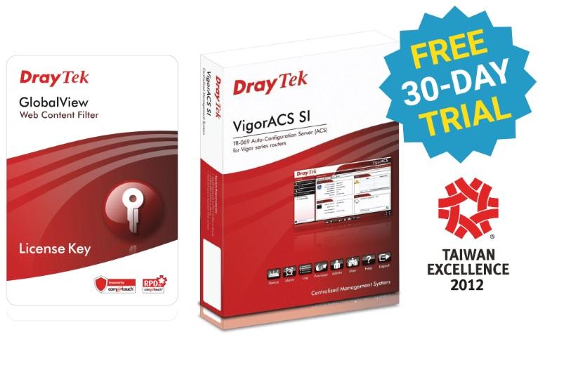 Draytek, Web, Content, Filter, Package, 1, Year, For, VigorFly, 210, /, Vigor2110, /, 2120, /, 2130, /, 2710, /, 2750, /, 2760, /, 2912, Series,