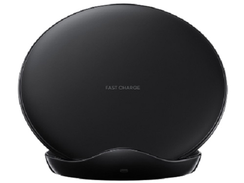 Samsung, Leather, Black, Wireless, Charging, Stand,