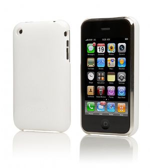 Cygnett, Form, White, iPhone, Case, Fitted, Hard, Case, Protec, (LS),