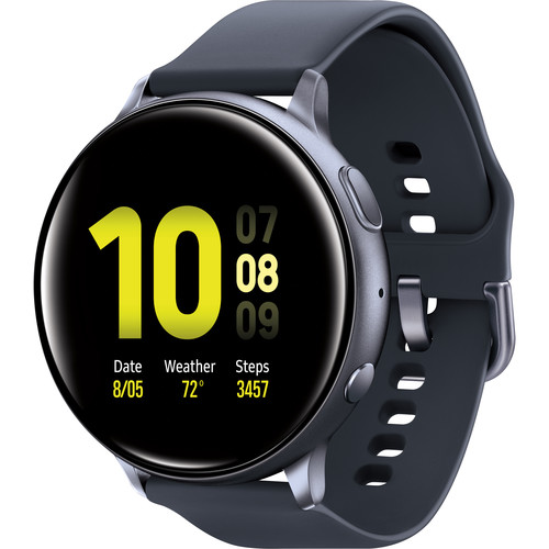 Samsung, Galaxy, Watch, Active2, Cellular/LTE, 40mm, Black,