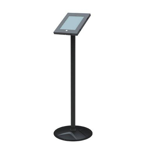 Brateck, Anti-Theft, Secure, Enclosure, Floor, Stand, for, iPad, 2, 3, 4, Air, &Air, 2, -, Black,
