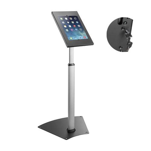 Brateck, Anti-theft, Height, Adjustable, Tablet, Kiosk, Stand, 9.7, /10.2, Ipad, 10.5, Ipad, Air/Ipad, Pro, 10.1, Sansung, Galaxy,