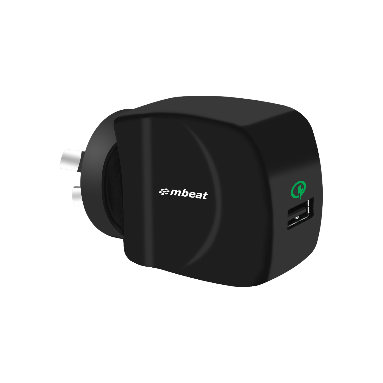 mbeat®, Gorilla, Power, QC, Qualcomm, Certified, USB, Quick, Charge2.0, Charger,