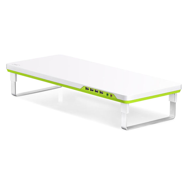 Deepcool, M-Desk, F1, Ergonomic, Monitor, Stand, Up, To, 27, &, 10kg, W/, Audio, &, 4x, USB,
