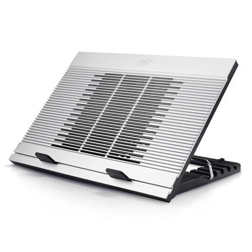 Deepcool, N9, Notebook, Cooler, (Up, To, 17, ), 180mm, Fan, 5, Angles, Aluminium, Speed, Adjustable, Silver,