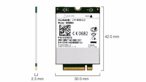 Huawei, 4G, LTE, Int, Modem, MU906E, 4G, LTE, for, LeaderTab, W150, W170,