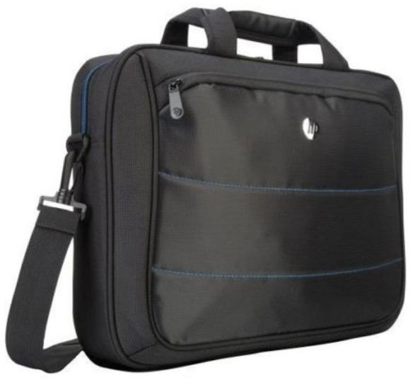 HP, L8K93PA, 15.6, Edge, Topload, Notebook, Laptop, Bag, Carry, Case, Black, Colour, Smooth, Carry, Handles, Shoulder, Strap, Light, Weig,