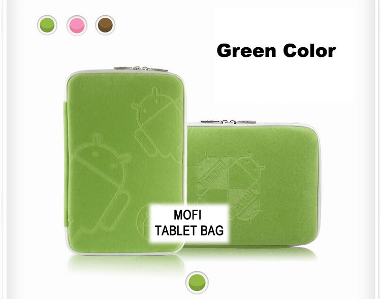 Tablet, 10, MofiZip, Case, Green, Andriod, logo., Suit, any, 10, tab,