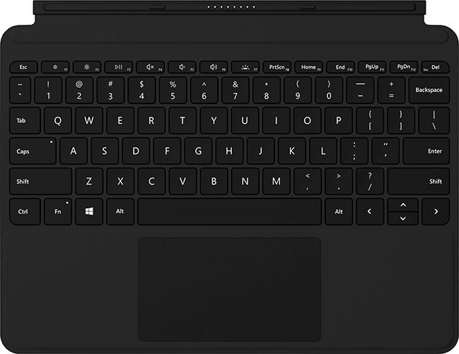 Microsoft, Surface, Go, Type, Cover, -, Black,