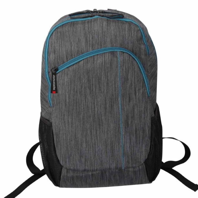 Promate, Ascend1-BP, Premium, Accented, Laptop, Bag, for, Laptops, upto, 15.6, -, Grey,