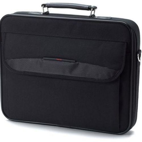 Toshiba, 15.6, 16, Essential, Notebook, Laptop, Bag, Carry, Case, Black, Colour, Smooth, Carry, Handles, Shoulder, Strap, Light, Weight,