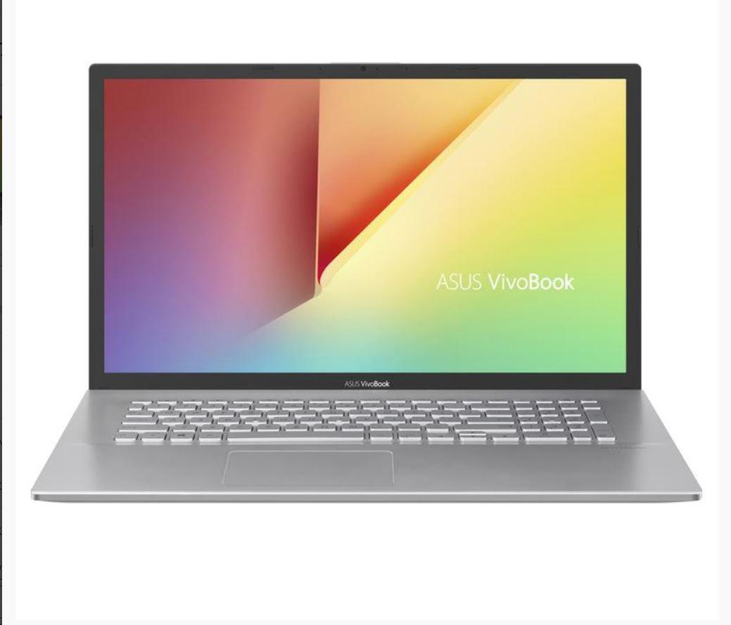 Asus, VIVOBOOK, X712FA, 17.3, FHD, i5-8265U, 8GB, 512GB, SSD, W1064, HDMI, USB-C, WL, BT, Fast, Charge, 2.3kg, 1YR, WTY, SILVER, Notebook, (X,