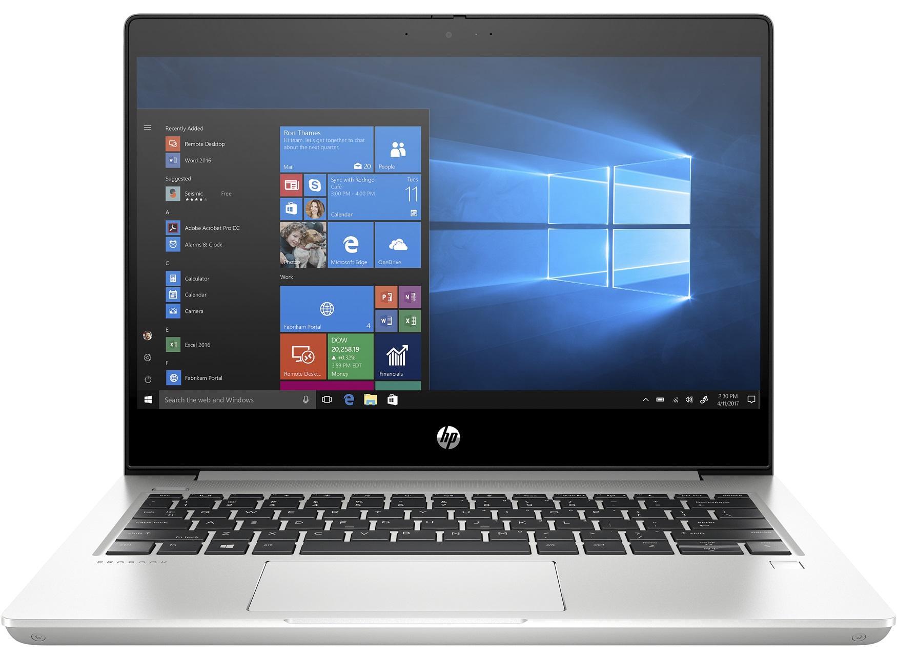 Hewlett-Packard, PB, 430G7, 13, I3, 8G, 256G, AG, IR, W10H,