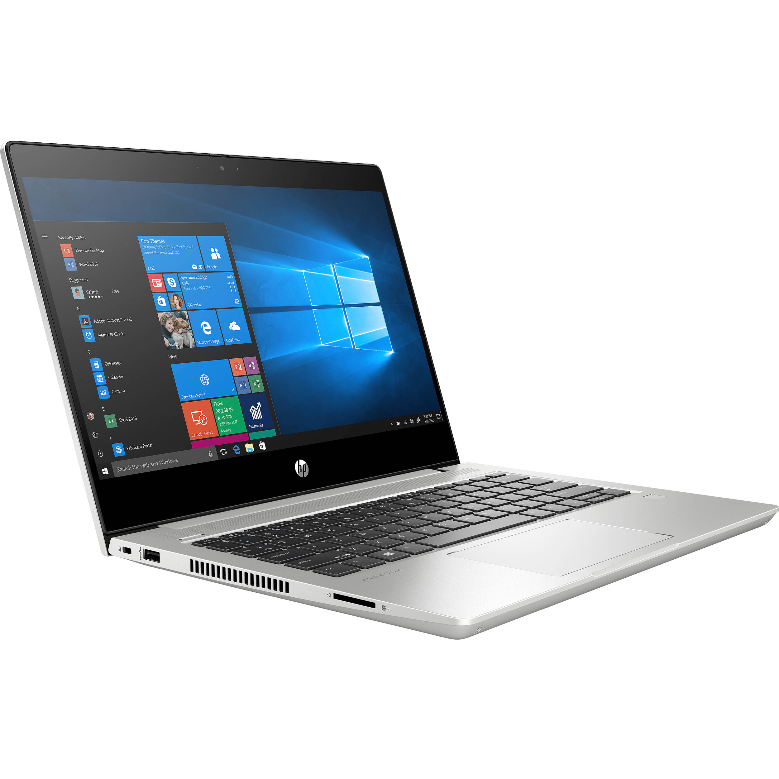 Hewlett-Packard, PB, 430, G7, I5-10210U, 8GB, 256GB, HD-SCR,