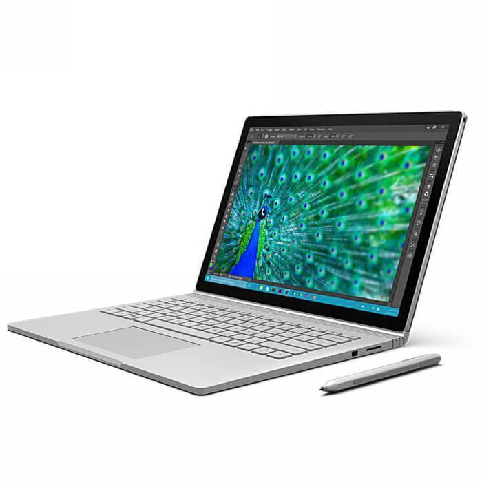 Microsoft, Surface, Book, 13.5, Touch, Intel, I7-6600U, 8GB, RAM, 256GB, SSD, Intel, HD, Windows, 10, Pro, (LS),